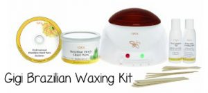 Gigi Brazilian Waxing Kit for professional home waxing