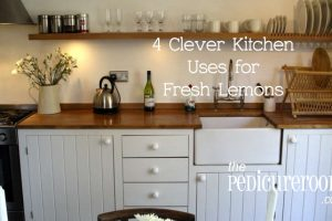 4 Clever Kitchen Uses for Fresh Lemons