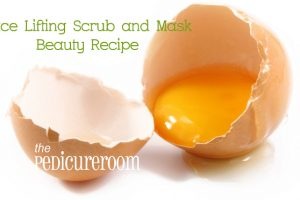 Face Lifting Scrub and Mask