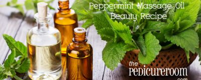 Peppermint Foot Massage Oil