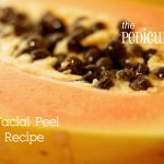 Papaya Facial Peel