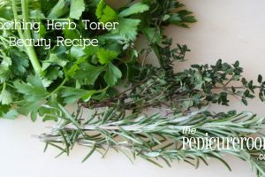 Soothing Herb Toner